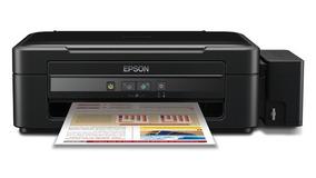 Impressora Epson Ecotank L-360 3 Em 1 Bivolt Preto
