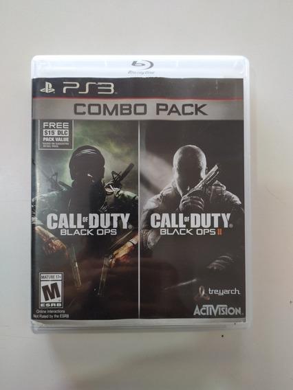 Combo Pack Call Of Duty Black Ops Para Ps3 Original.