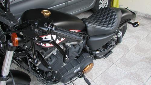 Imagem 1 de 15 de Harley Davidson  883 N Iron