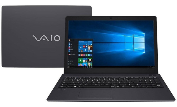 Notebook Vaio Fit 15s Intel Core I7 7500u 8gb Ssd 256gb W10