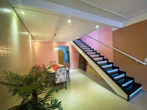 Imagem 1 de 30 de Sobrado Com 3 Dormitórios À Venda, 150 M² Por R$ 660.000,00 - Vila Francisco Matarazzo - Santo André/sp - So2137