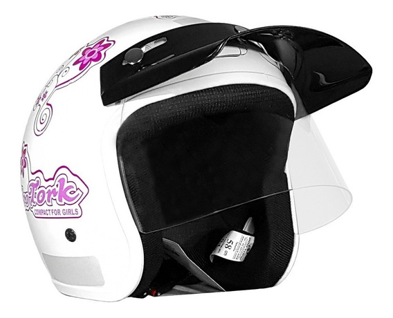 Capacete Moto Aberto Pro Tork Liberty Compact Girls 56/58
