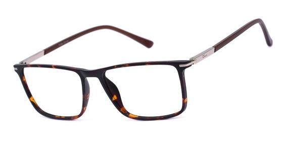 Armação Oculos Ogrife Og 1119-c Com Lente Sem Grau Masculino