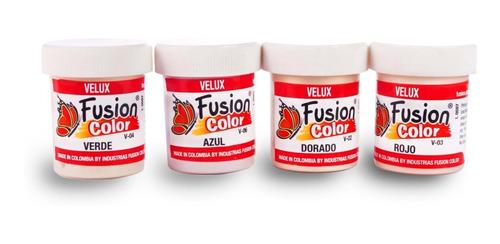 Imagen 1 de 6 de 4 Pinturas Velux X 30 Cc Fusion Color