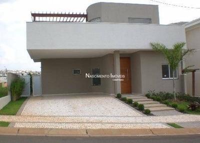 Casa Residencial À Venda, Swiss Park, Campinas. - Ca0251