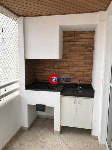 Apartamento Com 3 Dormitórios À Venda, 98 M² Por R$ 649.000,00 - Centro - Guarulhos/sp - Ap9892