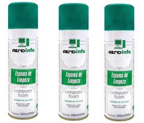 03 Espuma Limpeza Antiestática Rend Info Foam Spray 300ml
