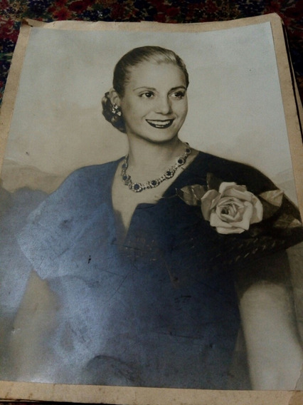 Foto Original De Eva Perón