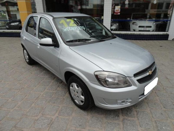 Chevrolet Celta 1.0 Mpfi Lt 8v Flex 4p Manual 2012 Prata