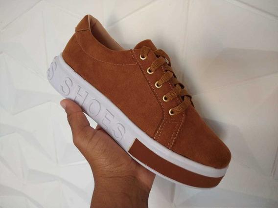 Tênis Feminino Shoes Plataforma Frete Grátis Envio Já