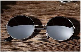 Gafas De Sol Unisex De Diseño Redondo Envió Gratis!