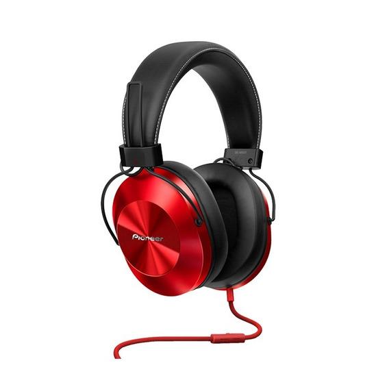 Auriculares Pioneer Rojos Hi Res Se-ms5t Vincha