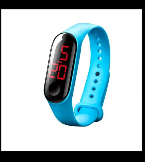 Relógio Inteligente Unissex Simples Resistente Água+ Sorteio