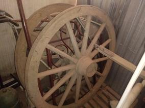 Roda Carroça Antiga 1.60 De Diâmetro #2500