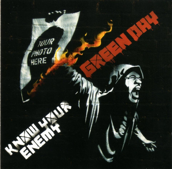 Green Day - Know Your Enemy / Cd Single Impecable