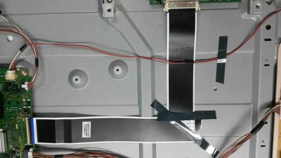 Cabo Flet (kit In Tcon E Out Tcon) Tv Panasonic Tc- 32a400b