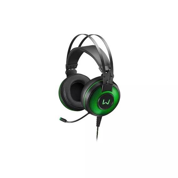 Headset Warrior Raiko Com Microfone E Leds Ph259