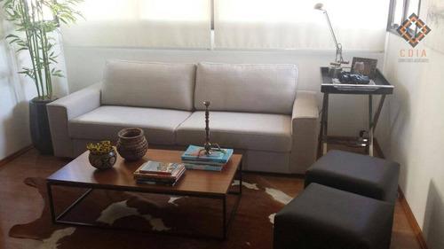 Imagem 1 de 20 de Apartamento Para Compra Com 3 Quartos E 3 Vagas Localizado Na Vila Romana - Ap53446