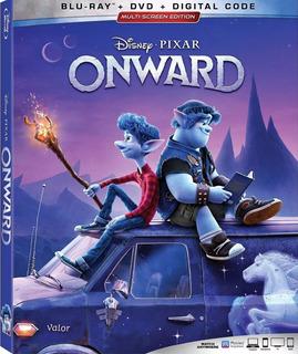 Onward Blu-ray + Dvd Nuevo Original Importado