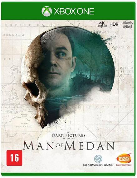 The Dark Pictures Man Of Medan Xbox One Mídia Física Lacrado