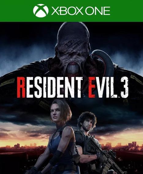 Resident Evil 3 Remake Xbox One Mídia Digital Envio Imediato