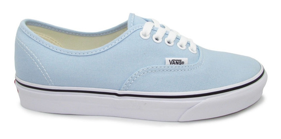 Tenis Vans Authentic Vn0a38emq6k Baby Blue True White