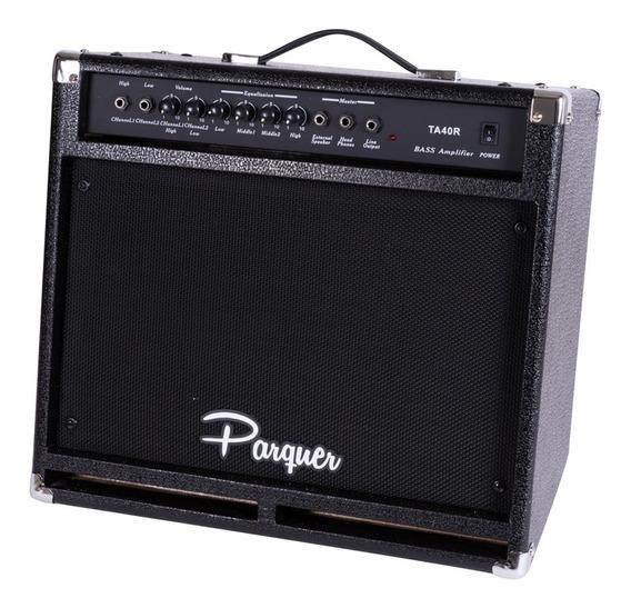 Amplificador Parquer De Bajo 40 Watts Cuota