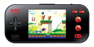 Consola Portatil My Arcade 220 Juegos 16 Bits Ibushak Gaming