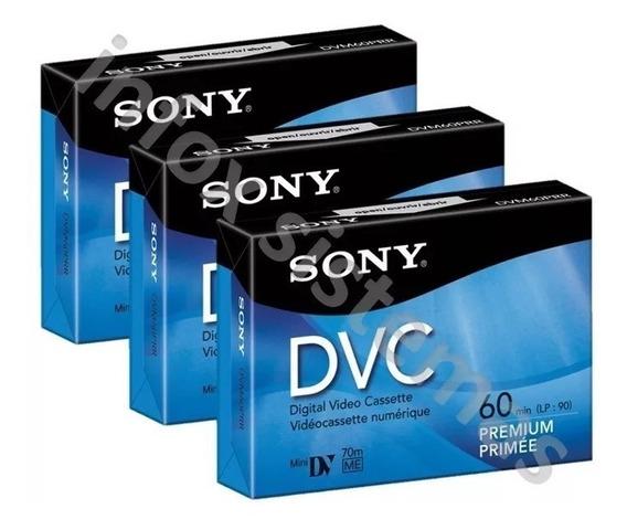 Cinta Mini Dvc/dv 60 Min Sony Cassette