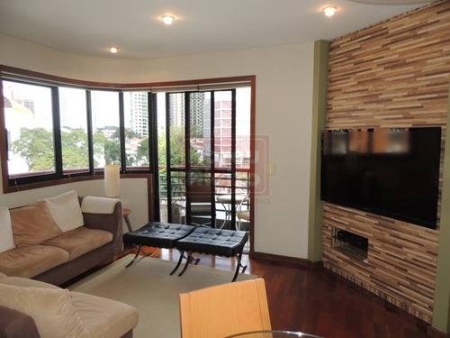 Imagem 1 de 26 de Alto Do Tatuapé - Apartamento Com 3 Dormitorios (1 Suite), 117 M² Úteis + 3 Vagas De Garagem Demarcadas - 854