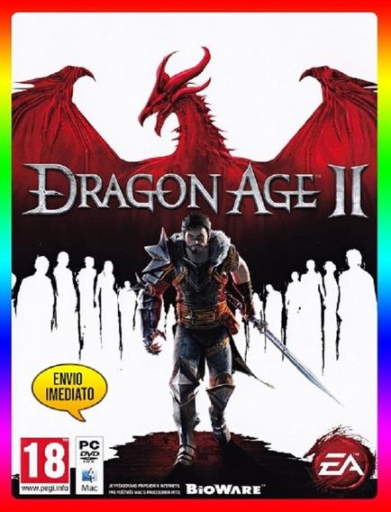 Dragon Age 2 Pc - 100% Original Origin Key (envio Já)
