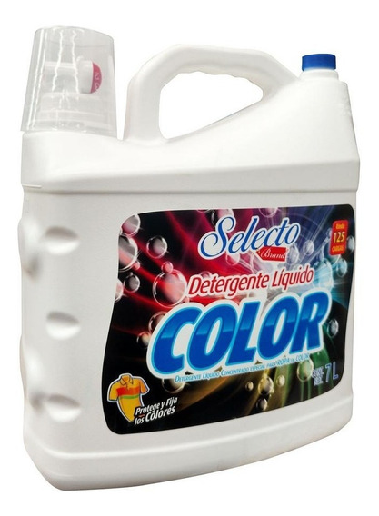 Detergente Selecto Color Botella 7lt