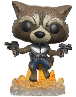 Funko Pop! Marvel: Rocket Guardianes De La Galaxia