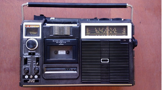 Rádio Gravador Antigo Jvc Am Am Oc