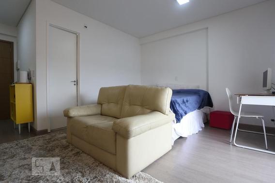 Studio No 25º Andar Mobiliado Com 1 Dormitório E 1 Garagem - Id: 892912223 - 212223