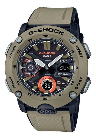 Relógio Casio Masculino Ga-2000-5adr Marrom - Refinado