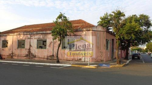 Barracão  Comercial Para Locação, Centro, Nova Odessa. - Ba0164
