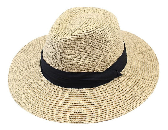 Furtalk Panama Roll Up Sombrero Fedora Beach Sun Hat Upf5