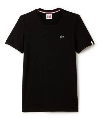 Camiseta Da Lacoste Live Unissex Em Jersei De Algodao
