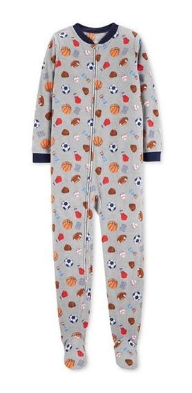 Pijamas Carters Micropolar Varon-talles 2t A 5t
