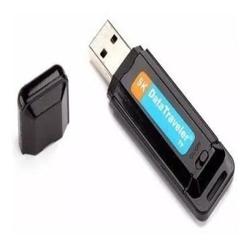 Grabadora Digital Espia En Pen Drive Sonido Mp3 Micro Sd Hc