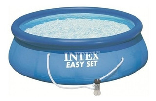 Pileta Intex Easy Set 366 X 76 5621 Lt + Flitro Ultimo Modelo