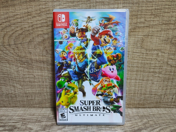 Super Smash Bros Ultimate Nintendo Switch - Lacrado