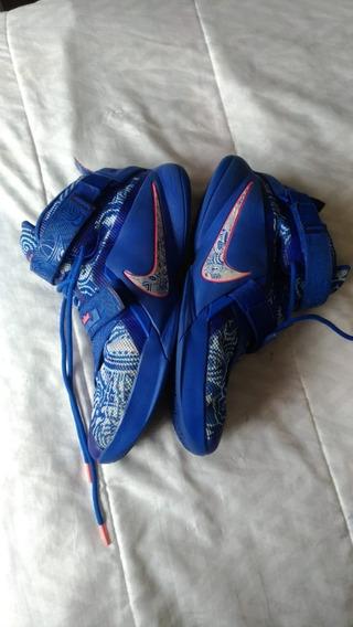 Tenis Nike Lebron Soldier Ix 9 Qs Edição Limitada Basquete