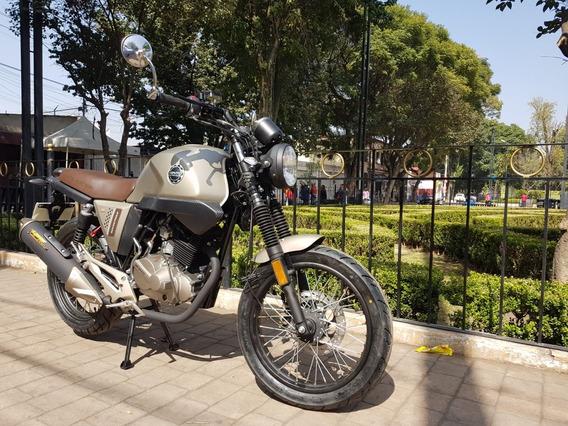 Vento Rocketman Estilo Cafe Racer Circula En Vias Rapidas