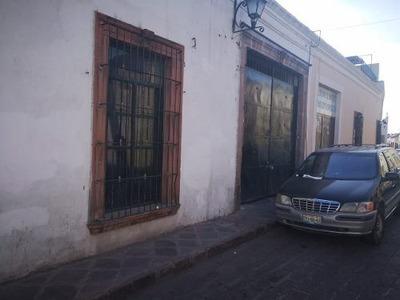 (crm-3811-191) Casa En Renta Con Uso De Suelo Primer Cuadro Del Centro Histórico.