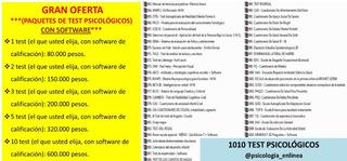 Pruebas Psicológicas Con Software