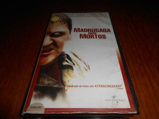 Vhs Filme Madrugada Dos Mortos. 2004, Dublado.