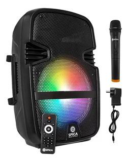 Parlante Portátil Bluetooth Karaoke Microfono Radio Bateria