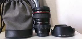 Canon 24-105mm F/4l Is Usm Série L Profissional
